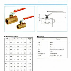 [1]Brass Ball Valve AR 200