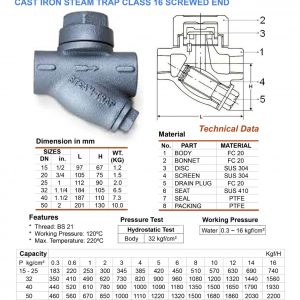 [1]Cast Iron Steam Trap SE