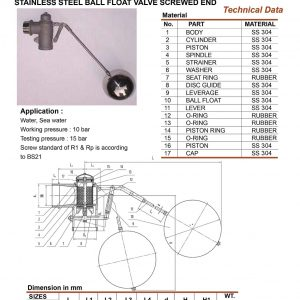 [1]SS Floating Ball Valve SE (2.5-4 inch)