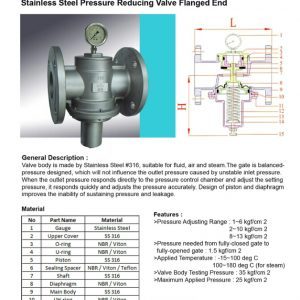 [1]SS Pressure Reducing Valve FE -1